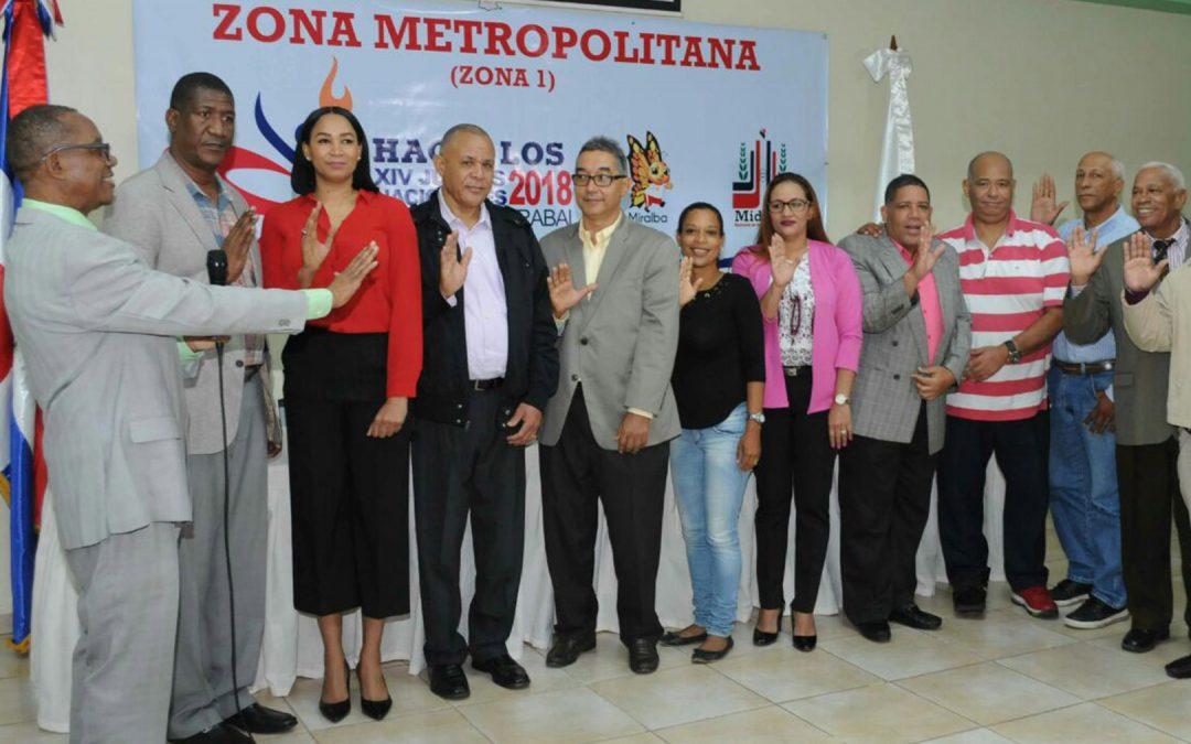 Juramentan el comité de la Zona Metropolitana Juegos Nacionales