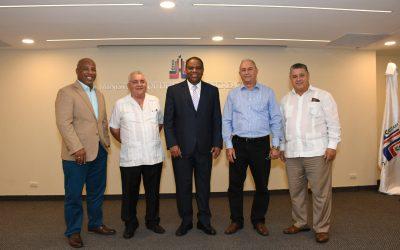 Danilo Díaz recibe nuevo  coordinador técnicos Cuba