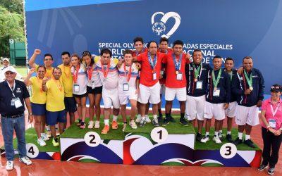 Selección de RD suma 16 medallas en el Invitacional Mundial de Tenis de Olimpiadas Especiales