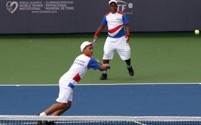 Selección RD agregó dos medallas de Oro en el Invitacional Mundial de Tenis de Olimpiadas Especiales
