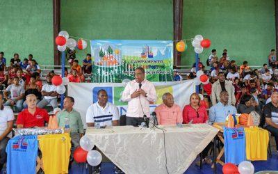 Ministro de Deportes Danilo Díaz  inaugura Campamentos Semana Santa 2019