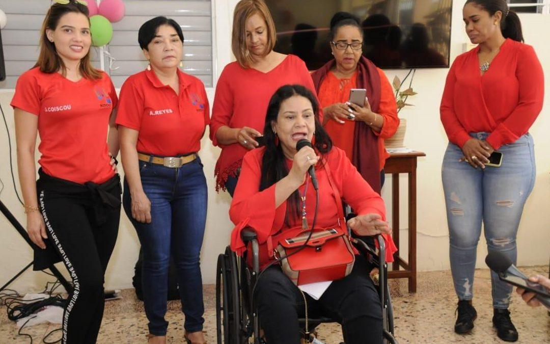 Miderec celebró San Valentín a adultas mayores Boca Chica