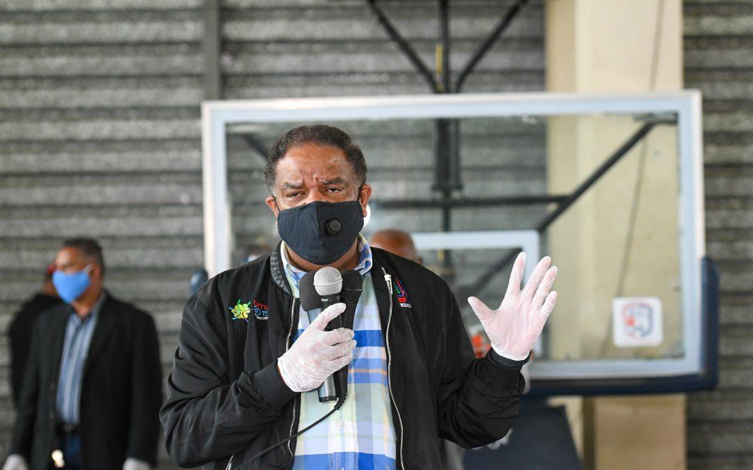 Danilo Díaz entrega apoyo más 390 deportistas en DN