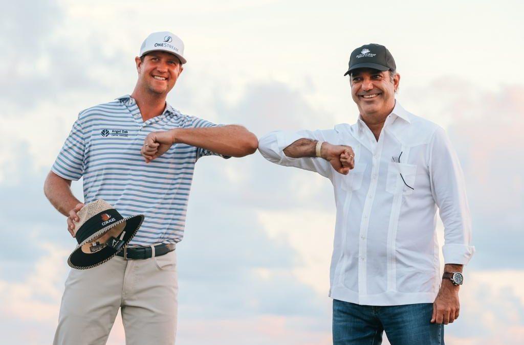 Luis Abinader dice presente en Torneo de Golf de Punta Cana