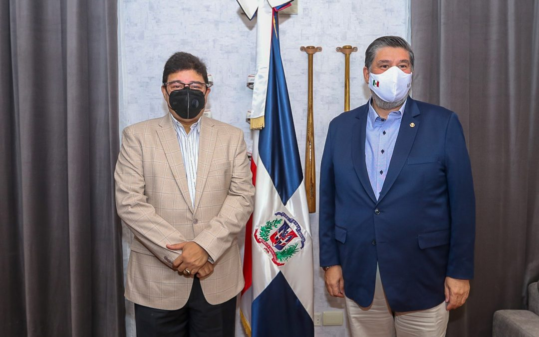 República Dominicana y México acuerdan ampliar lazos deportivos