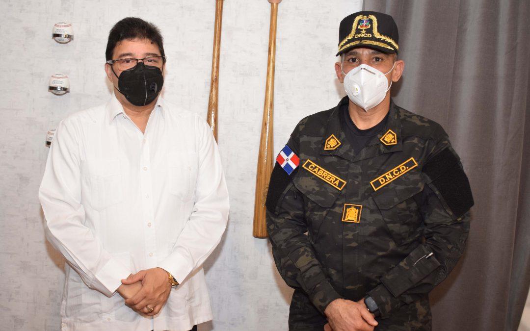 Miderec y DNCD se unen para enfrentar flagelo de las drogas en RD