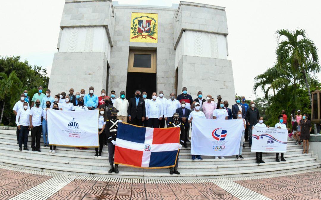 Celebran Día Nacional del Deporte  en un marco de unidad e inclusión