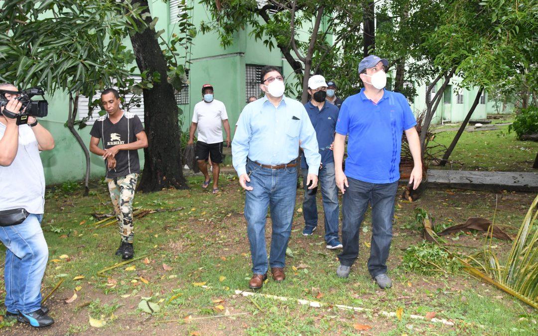 Camacho anuncia intervención Villa Olímpica para su reparación