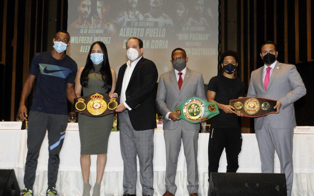 RD acogerá dos carteleras  Internacionales de boxeo profesional