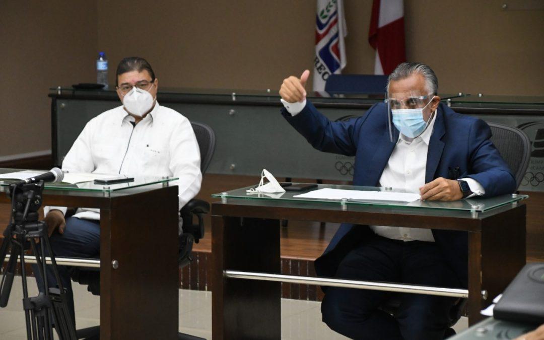 Camacho presenta propuesta al COD para manejo conjunto Albergue Olímpico