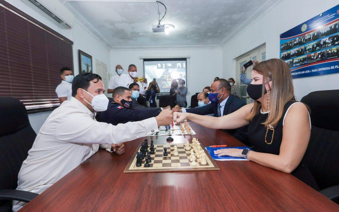 El Ministerio de Deportes apoya torneo de ajedrez de internos