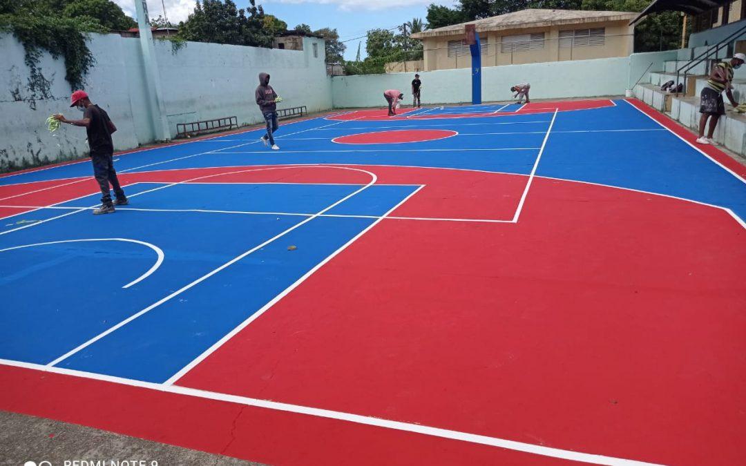Ministerio De Deportes realiza remozamientos instalaciones Zona Norte del País.
