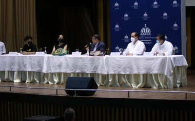 Ministro Camacho reitera su respaldo a los dominicanos 'Mini PacMan' Rosa y la 'Avispa' Puello