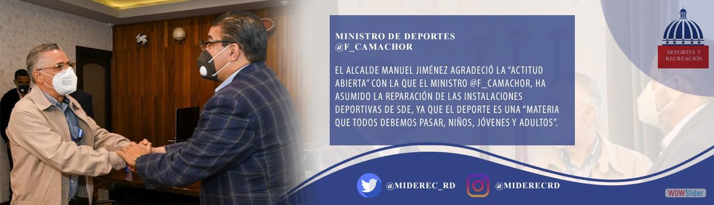Ministro de Deportes