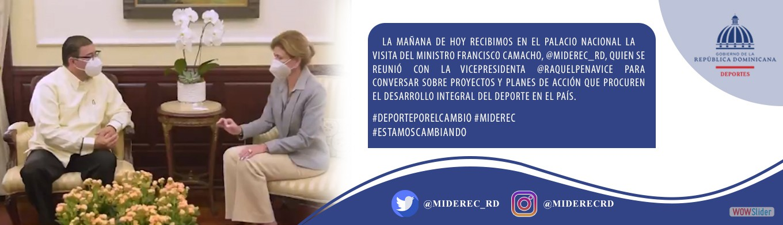 Ministro Visita Vice-Presidenta