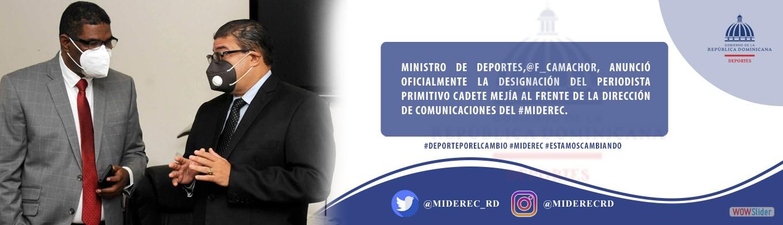 Designan Periodista Primitivo Cadete